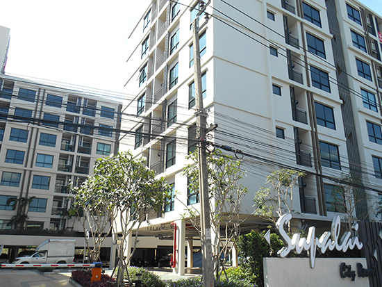 大手スパライ社のSUPALAI CITY RESORT BEARING STATION-SUKHUMVIT105